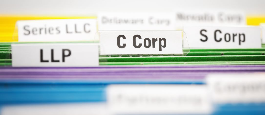 selecting the correct business entity structure